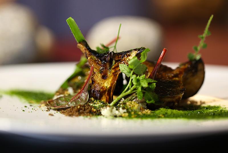 Cardoncelli-arrosto-caprino-erbe-olvere-spinaci
