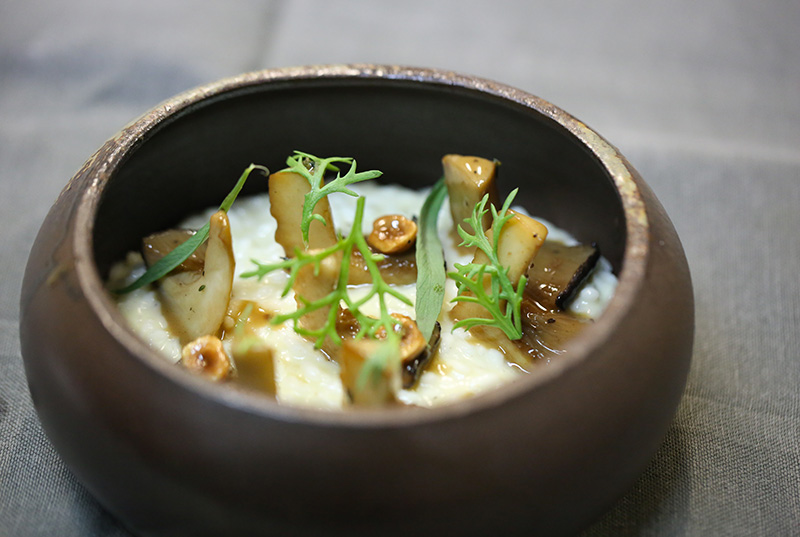 risotto-bianco-cardoncelli-kikuna